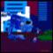 Blue Midget Walker