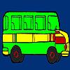 Big city bus coloring