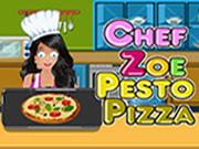 Chef Zoe - Pesto Pizza