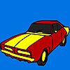 Classic long car coloring