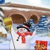 Funky Frosty Decoration