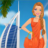 Girl visits Dubai