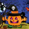 Halloween Pumpkin Deco