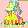 Kids coloring: Gingerbrea…