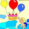 Kid's coloring: Happy Bir…