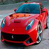 Parts of Picture:Ferrari