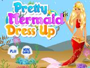 Pretty Mermaid Dress Up