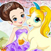Princess With Unicorn