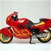 Red Motorbike Slider