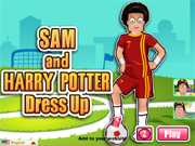 Sam and Harry Potter Dres…
