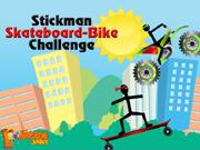 Stickman Skateboard-Bike …