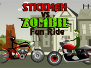 Stickman vs Zombie Fun Ri…