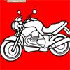 jocuri moto coloring