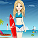 The Surfing Girl Dress Up