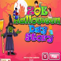Zoe Halloween Day Story
