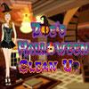 Zoe Halloween Clean Up